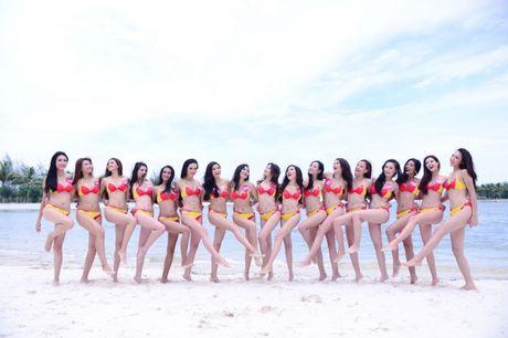 Bikini Vietjet nong bong tai xuat cung Hoa Hau Hoan Vu Viet Nam - Anh 1