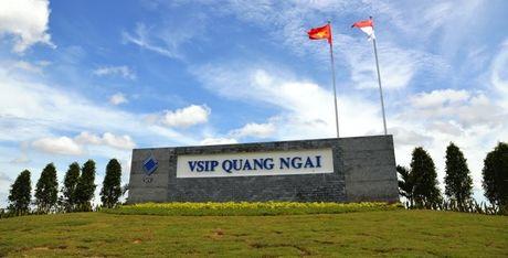 Quang Ngai tim co che dac cach khu cong nghiep VSIP hon 1.200ha - Anh 1