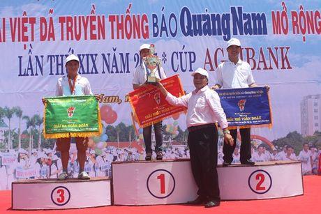 Giai Viet da truyen thong Bao Quang Nam 2015: Quy mo lon nhat tu truoc den nay. - Anh 2