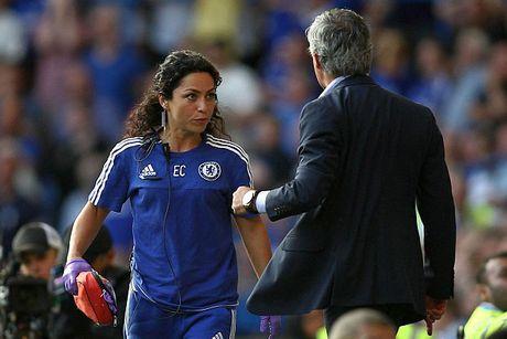 Mourinho choi phat da vang tuc voi nu bac si Eva Carneiro - Anh 1