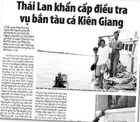 Thai Lan thua nhan ban ngu dan Viet Nam: Ho ban xoi xa, khong he canh bao! - Anh 1