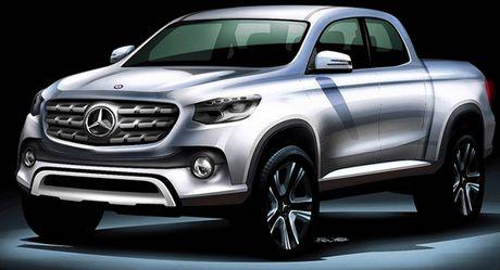 Mercedes-Benz cho ra mat mau xe ban tai giong Nissan Navara NP300 - Anh 1
