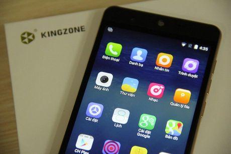 Kingzone N5: Smartphone RAM 2 GB tam gia 4 trieu dong - Anh 1