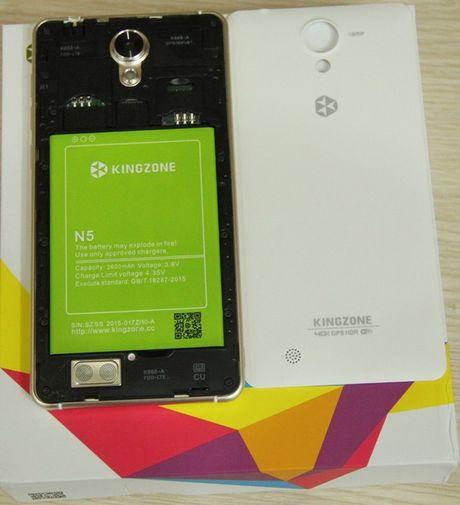Kingzone N5: Smartphone RAM 2 GB tam gia 4 trieu dong - Anh 5