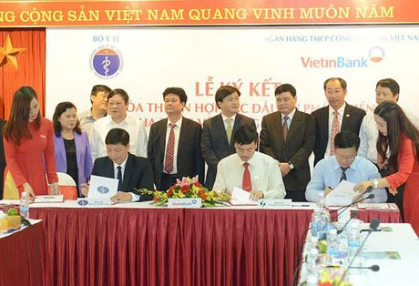 VietinBank danh 30.000 ty dong cho nganh Y te - Anh 1