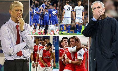 Arsenal quyet day Chelsea xuong nhom rot hang - Anh 1