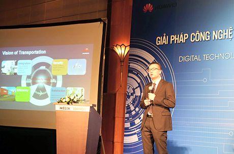 Huawei muon cung cap giai phap duong sat thong minh tai Viet Nam - Anh 1
