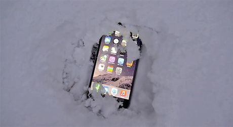 iPhone tu dong tat trong thoi tiet ret ky luc o Trung Quoc - Anh 1