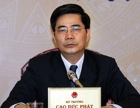 """Bo truong Cao Duc Phat: """"Cac tin trai chieu khong anh huong ket qua Dai hoi"""" - Anh 1"""