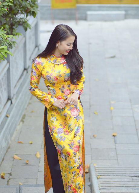 Thieu nu Nam Dinh rang ro khoe sac xuan thi - Anh 11