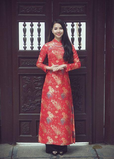Thieu nu Nam Dinh rang ro khoe sac xuan thi - Anh 12