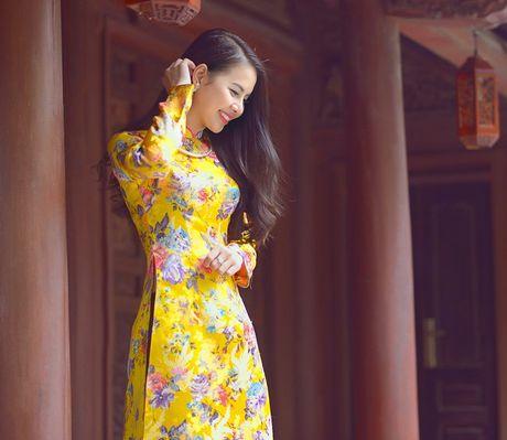 Thieu nu Nam Dinh rang ro khoe sac xuan thi - Anh 14