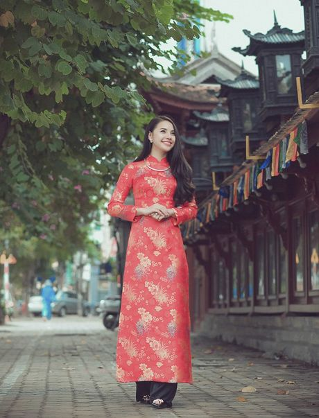Thieu nu Nam Dinh rang ro khoe sac xuan thi - Anh 15