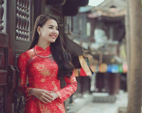 Thieu nu Nam Dinh rang ro khoe sac xuan thi - Anh 1
