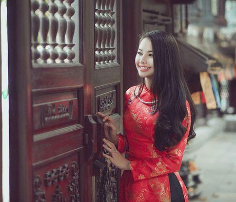 Thieu nu Nam Dinh rang ro khoe sac xuan thi - Anh 3