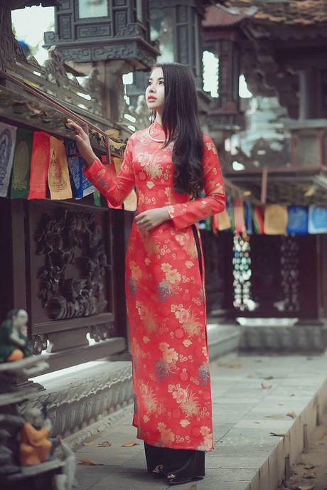 Thieu nu Nam Dinh rang ro khoe sac xuan thi - Anh 4