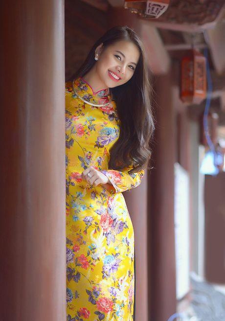 Thieu nu Nam Dinh rang ro khoe sac xuan thi - Anh 5
