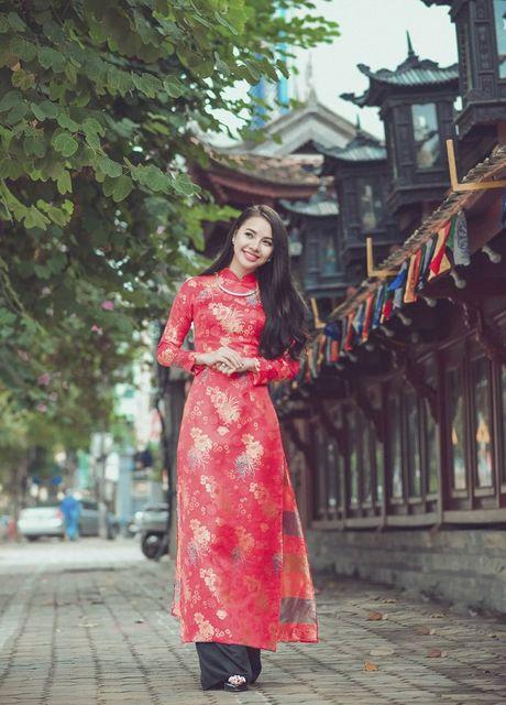 Thieu nu Nam Dinh rang ro khoe sac xuan thi - Anh 6