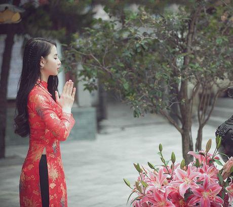 Thieu nu Nam Dinh rang ro khoe sac xuan thi - Anh 7