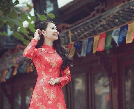 Thieu nu Nam Dinh rang ro khoe sac xuan thi - Anh 8
