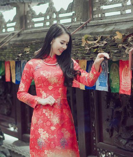 Thieu nu Nam Dinh rang ro khoe sac xuan thi - Anh 9