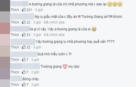 Fan day song truoc nghi van Truong Giang hen ho Que Van - Anh 12