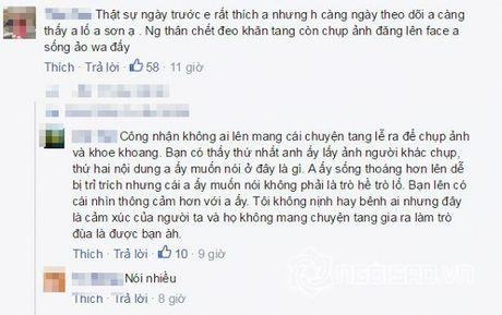 Cao Thai Son bi 'nem da' vi chup anh dang facebook trong dam tang - Anh 4