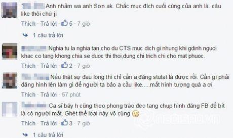 Cao Thai Son bi 'nem da' vi chup anh dang facebook trong dam tang - Anh 5