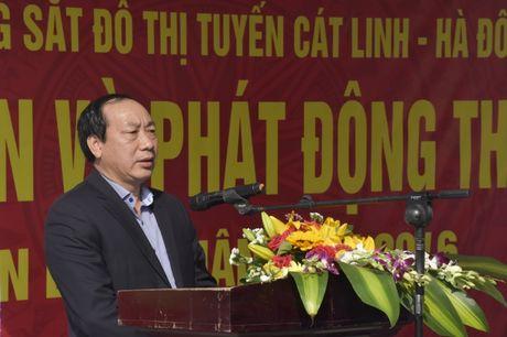 Duong sat Cat Linh-Ha Dong se di vao hoat dong tu ngay 31/12/2016 - Anh 1