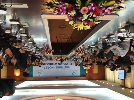 Viet Nam-Han Quoc thao luan ke hoach trien khai 4G LTE - Anh 1