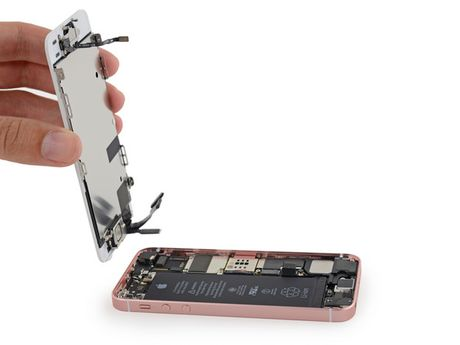 iFixit mo tiet lo moi thu ben trong iPhone SE - Anh 9