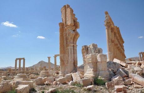 Phat hien gay soc tai ngoi mo chua 42 thi the o Palmyra - Anh 1