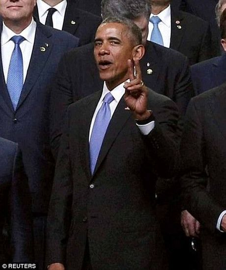 Obama tao dang 'xi-tin' trong hoi nghi hat nhan the gioi - Anh 2