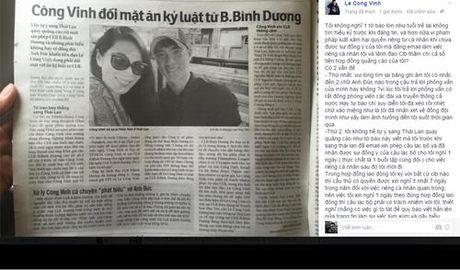 """Cong Vinh buc xuc """"phan phao"""" ve nhung scandal - Anh 2"""