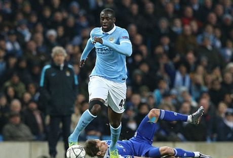 Dau PSG, Man City mat Yaya Toure - Anh 1