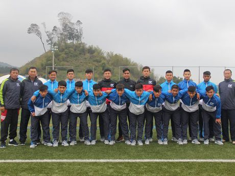 PVF gianh a quan giai U.16 J-League Challenge - Anh 1
