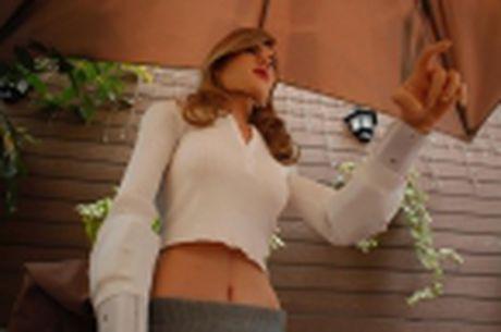Nha thiet ke Hong Kong che tao robot co hinh dang giong nu dien vien Scarlett Johansson - Anh 2