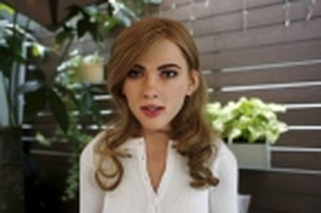 Nha thiet ke Hong Kong che tao robot co hinh dang giong nu dien vien Scarlett Johansson - Anh 8