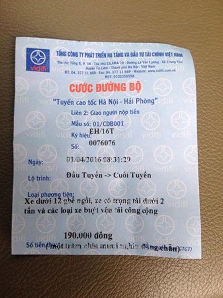 Tai xe buc xuc vi phi cao toc Ha Noi – Hai Phong tang cao bat thuong - Anh 2