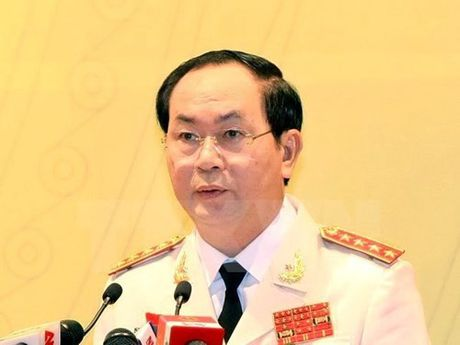 Chu tich nuoc Tran Dai Quang tuyen the - Anh 1
