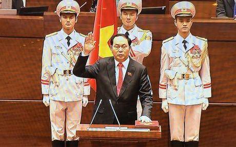 Tan Chu tich nuoc, ong Tran Dai Quang - Anh 1