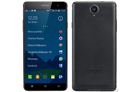 Anh render Nokia A1 chay Android tai xuat - Anh 1
