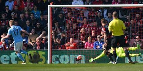 Chi tiet Bournemouth - Man City: Kolarov ghi tuyet pham (KT) - Anh 4