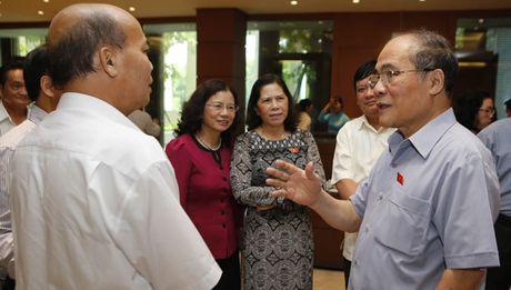 Voi Chu tich Quoc hoi Nguyen Sinh Hung: Da hoan thanh nhiem vu - Anh 1
