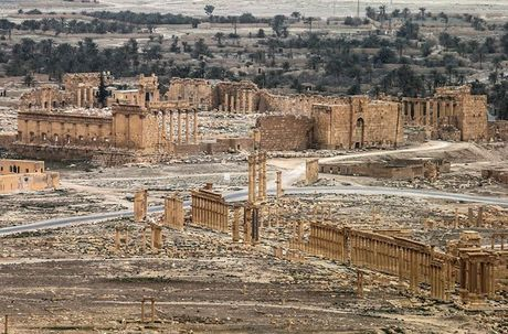 IS gai 3.000 qua min quanh Palmyra - Anh 2