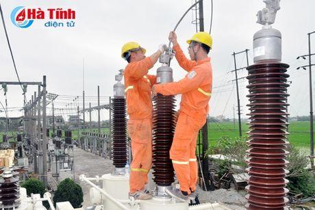 Cai tao, nang cong suat Tram bien ap 110 kV Thach Linh - Anh 1