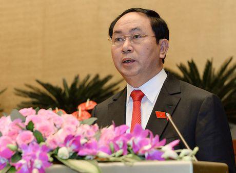 Chu tich nuoc Tran Dai Quang cam ket bao ve vung chac, doc lap, chu quyen cua To quoc - Anh 1