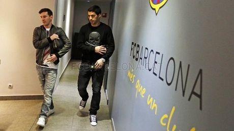 TRUC TIEP Barca - Real Madrid: MSN doi dau BBC - Anh 1
