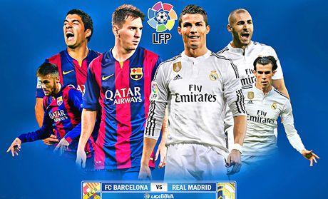 01h30 ngay 3/4, san Camp Nou, Barcelona - Real Madrid: Lat thuyen giua dong? - Anh 1