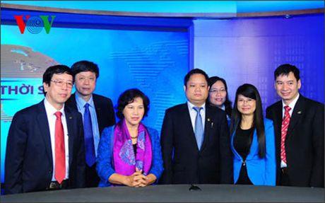 Tan Chu tich Quoc hoi Nguyen Thi Kim Ngan voi VOV - Anh 1